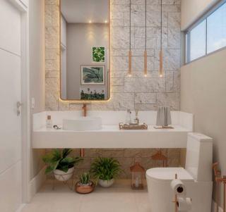 20 ایده مدرن برای دکوراسیون داخلی حمام و سرویس بهداشتی