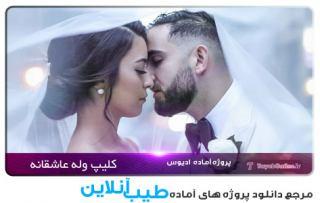 دانلود پروژه ادیوس کلیپ عروسی عاشقانه و اینستاگرام
