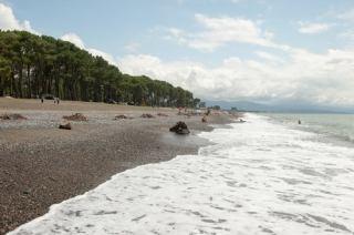 ساحل سحرآمیز (اورکی) یکی از جاذبه های طبیعی اسرارآمیز گرجستان