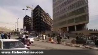 فیلم/ مسئول ارشد دانشگاه آزاد دانشجویان معترض را با خودرو زیر گرفت/ دو نفر مجروح شدند