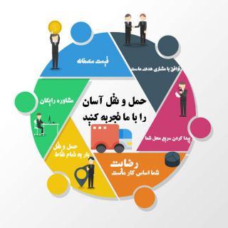 باربری و اتوبار شهرک اکباتان آماده حمل بار در تهران و  شهرستانها