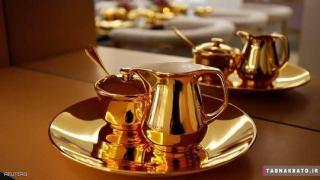 سوئیت یک هتل لوکس از جنس طلا