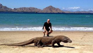 اژدهای کومودو بزرگ ترین مارمولک دنیا