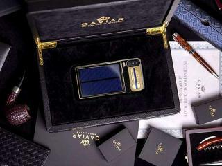 شرکت Caviar آیفون X تسلا با امکان شارژ خورشیدی را عرضه کرد