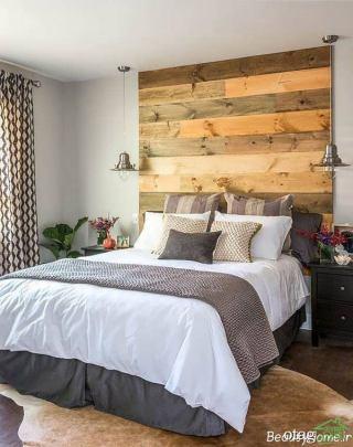 30 مدل تزیین زیبا و دیدنی از دکوراسیون داخلی اتاق خواب با چوب