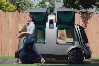 خودروی خودران نورو برای تحویل مواد غذایی در آمریکا