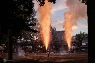 جشنواره آتش در ژاپن