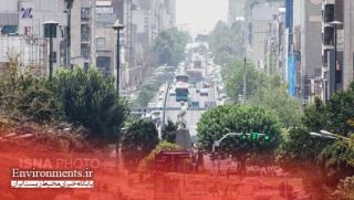 گرد و غبار علت آلودگی هوا در بیش از نیمی از روزهای گرم تهران