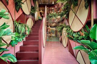 فضای داخلی رستوران سوشی در اسپانیا
