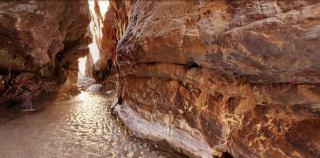 تصاویری باورنکردنی از طبیعت چشمه مرتضی علی در طبس!