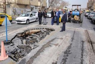 فرونشست تهران حاصل اجرای نادرست شبکه فاضلاب شهری