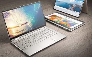 اچپی نسل جدید لپ تاپ Spectre x360 را با پردازنده نسل دهم اینتل معرفی کرد