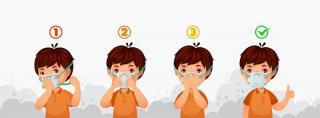 روش استفاده صحیح از ماسک برای جلوگیری از بیماری کرونا