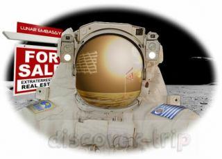 همه چیز درباره خرید زمین در ماه