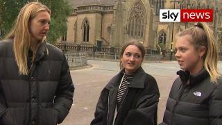 اخبار Sky News با زیرنویس انگلیسی – هشدار وزیر انگلیسی به دانشجویان