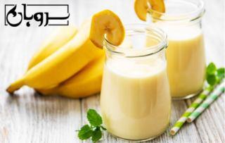 آموزش و طرز تهیه بهترین و خوشمزه شیر موز رژیمی