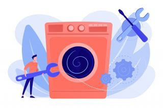 حل معضل تعمیرات لباسشویی در شهر اندیشه