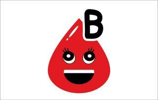 شخصیت گروه خونی B