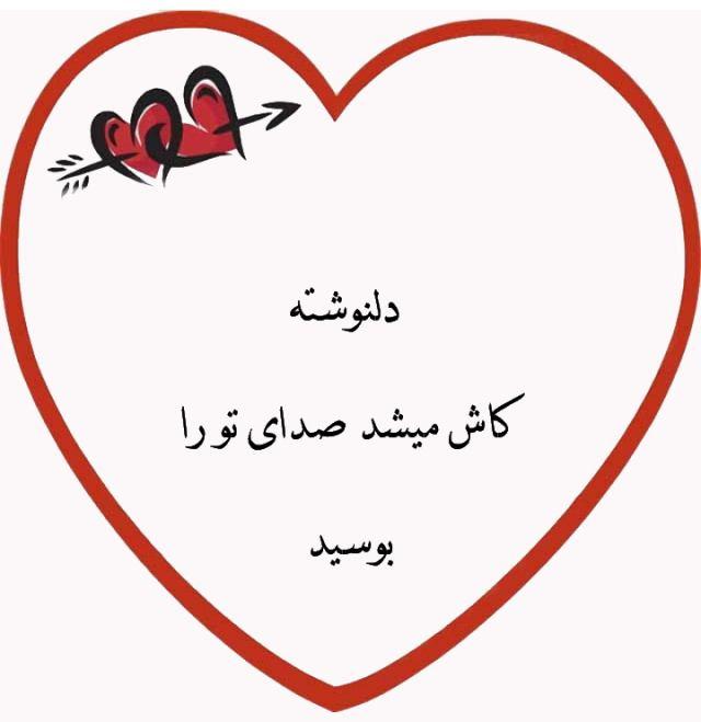 دلنوشته کاش میشد صدای تو را بوسید